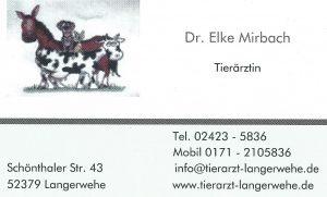 Tierärztin Mirbach